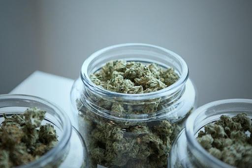Glass weed jars